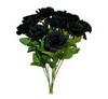 13 black roses