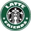 Latte Friends Button