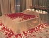 Bed of rose petals