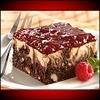 a Raspberry Cheesecake Brownie