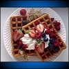 some Summer Berry Waffles