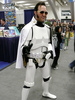 A visit from Stormtrooper Elvis