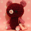 Valentine Bear with heart pouch