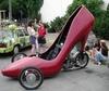 high heeled roadster