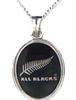 NZ-ALL BLACKS Pendant-Sterling