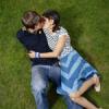 a Backyard Kiss!