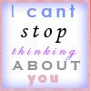 ♥C@nt Stop thinking @bout U♥