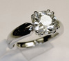 Juwelier Diamant Ring Herzdame